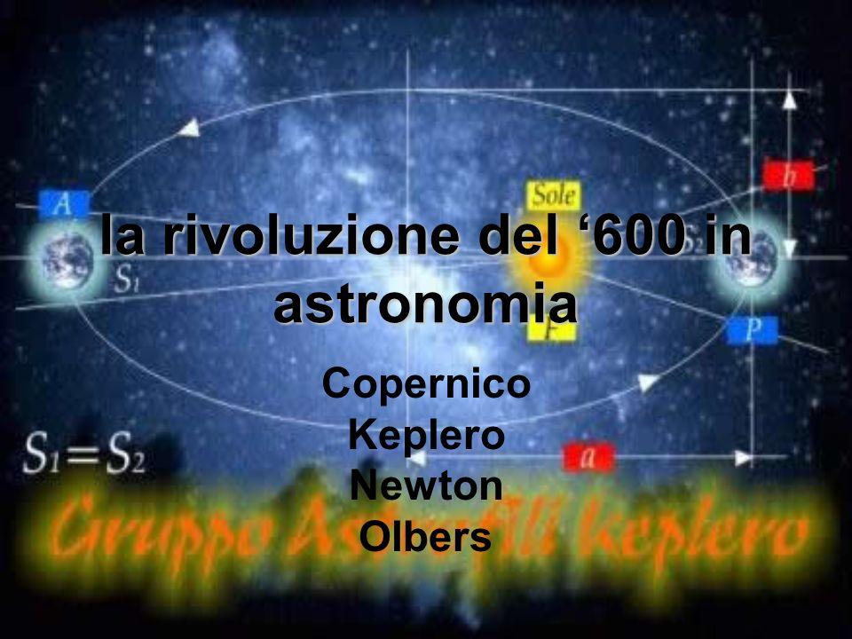 la rivoluzione del '600 in astronomia