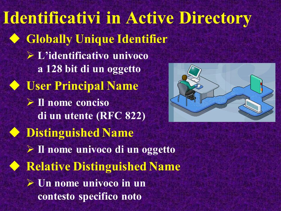 Identificativi in Active Directory
