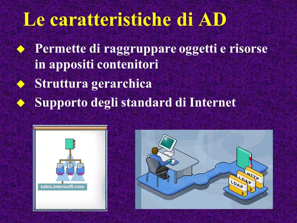 Le caratteristiche di AD