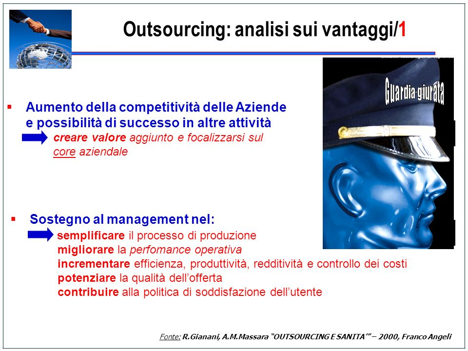 Outsourcing: analisi sui vantaggi/1