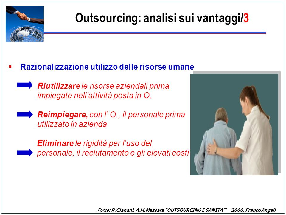Outsourcing: analisi sui vantaggi/3