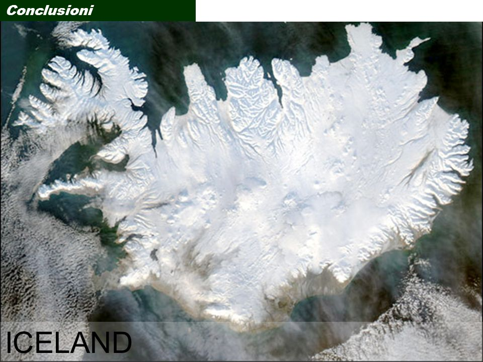 Conclusioni ICELAND