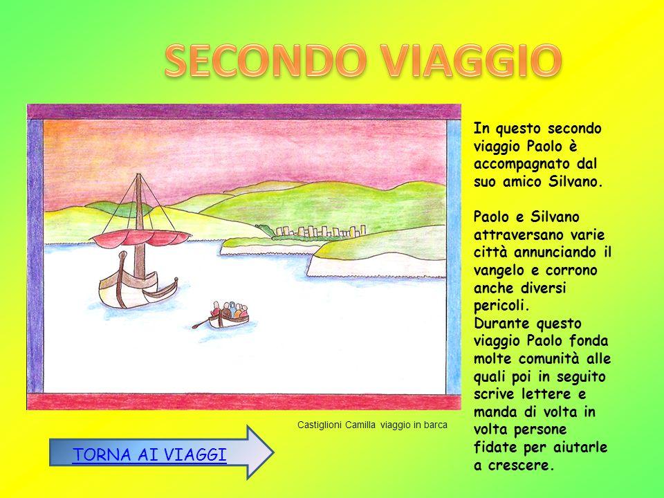 SECONDO VIAGGIO TORNA AI VIAGGI