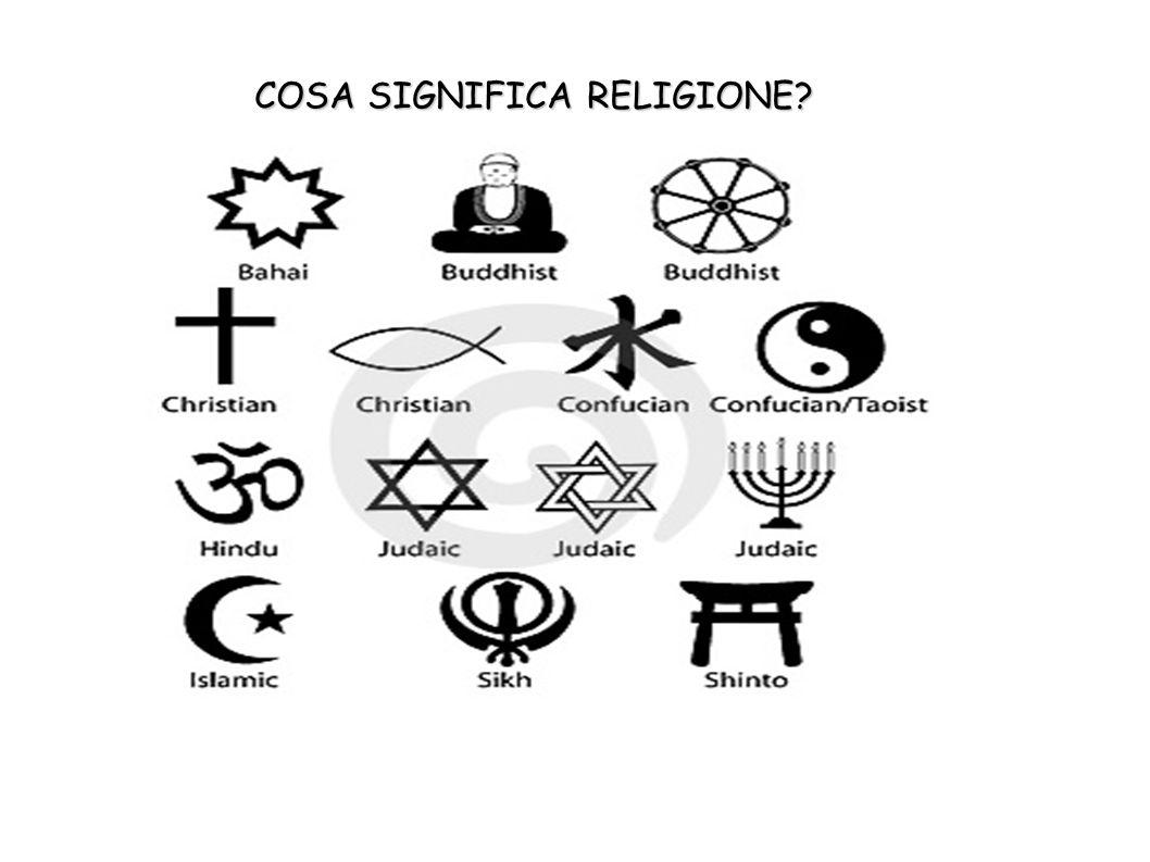 COSA SIGNIFICA RELIGIONE