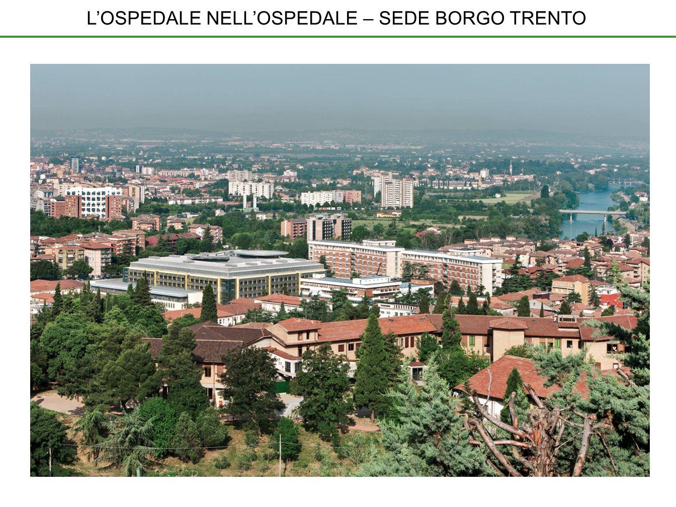 L'OSPEDALE NELL'OSPEDALE – SEDE BORGO TRENTO