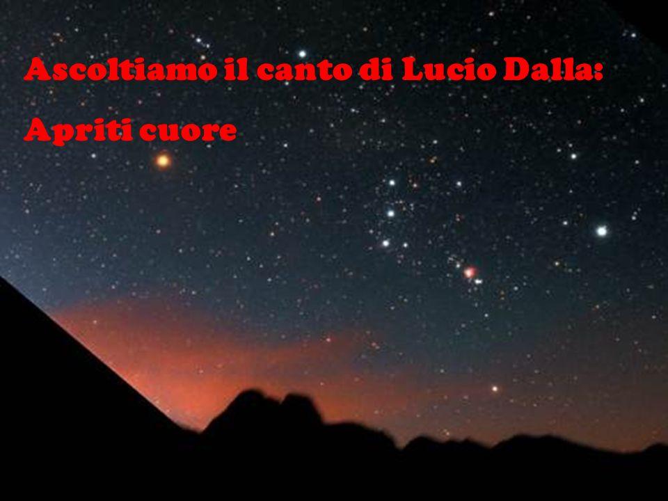 Ascoltiamo il canto di Lucio Dalla: