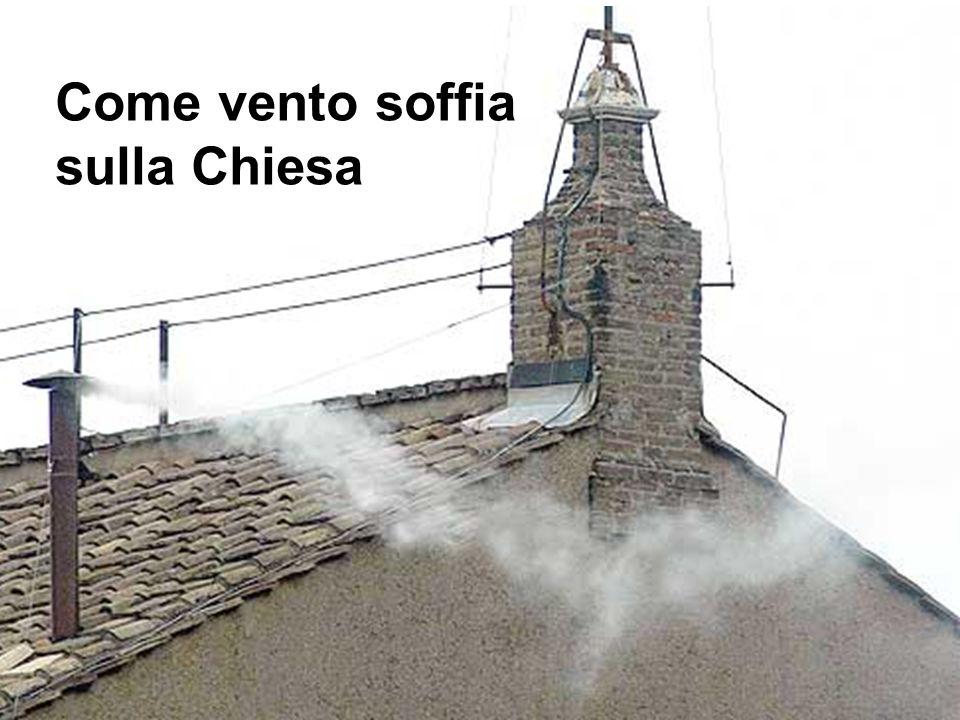Come vento soffia sulla Chiesa