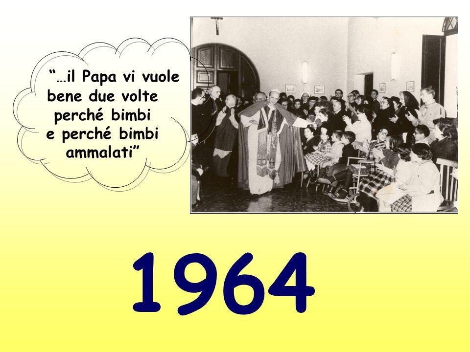 …il Papa vi vuole bene due volte perché bimbi e perché bimbi ammalati