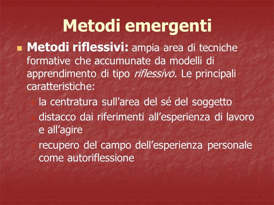 Metodi emergenti