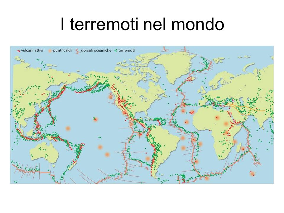 I terremoti nel mondo