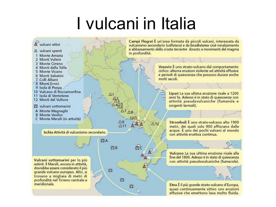I vulcani in Italia