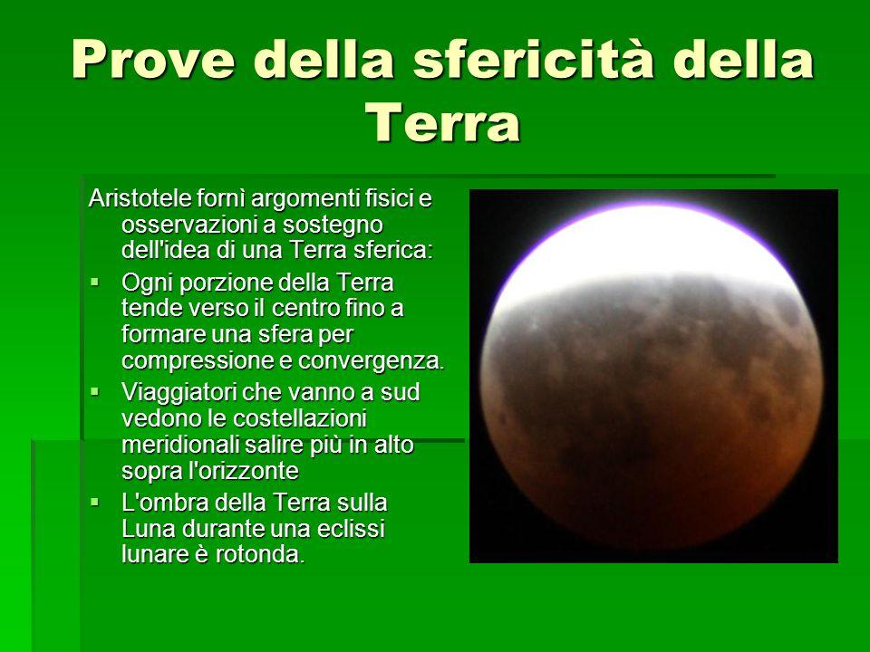 Prove della sfericità della Terra
