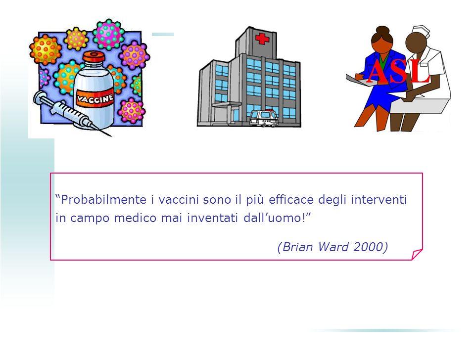 Probabilmente i vaccini sono il più efficace degli interventi