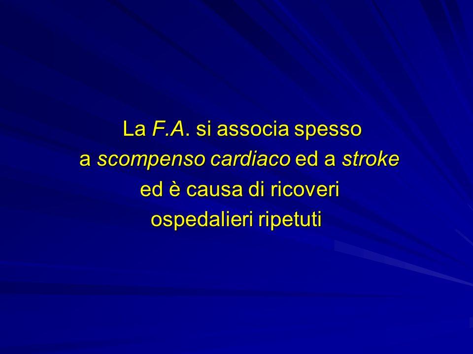 a scompenso cardiaco ed a stroke