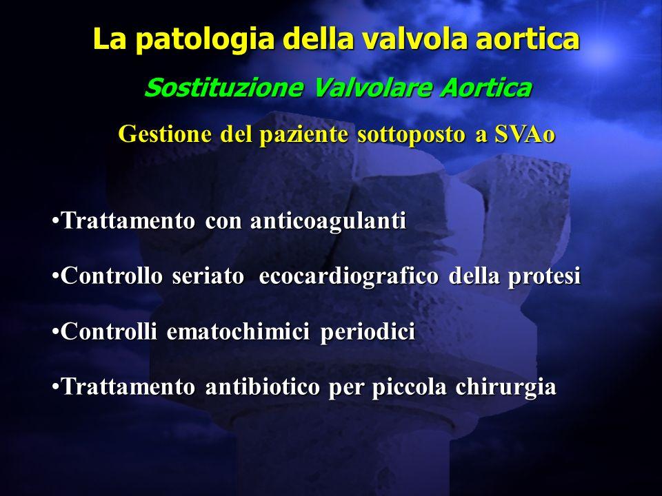 La patologia della valvola aortica