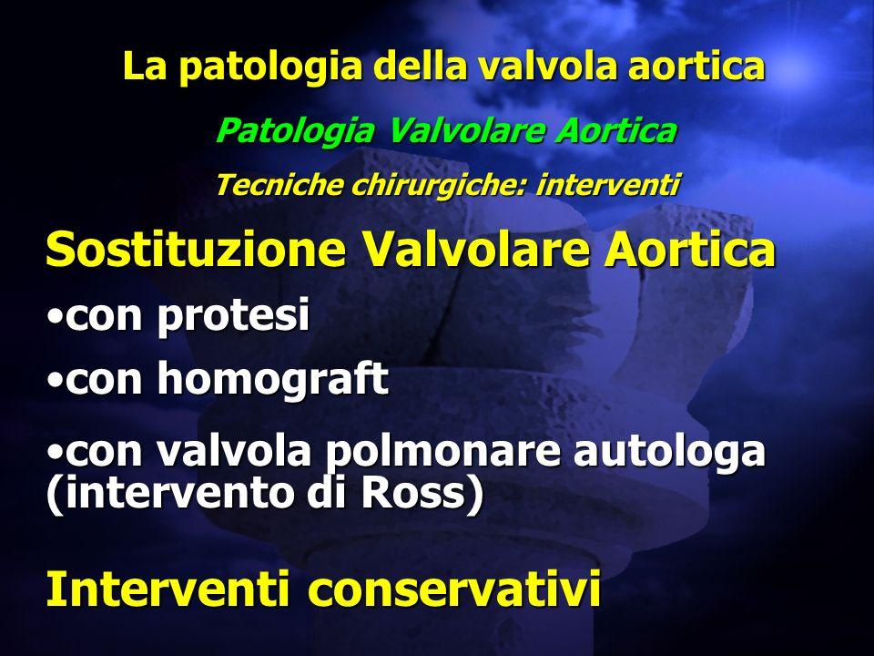 Sostituzione Valvolare Aortica