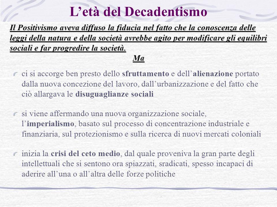 L'età del Decadentismo
