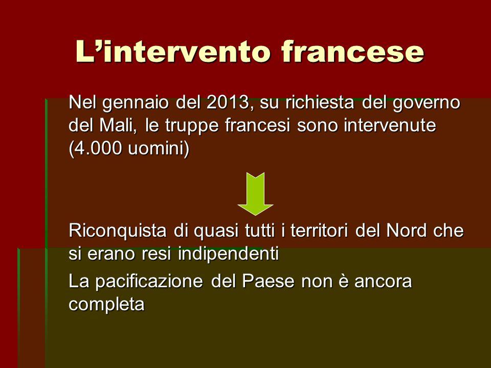 L'intervento francese