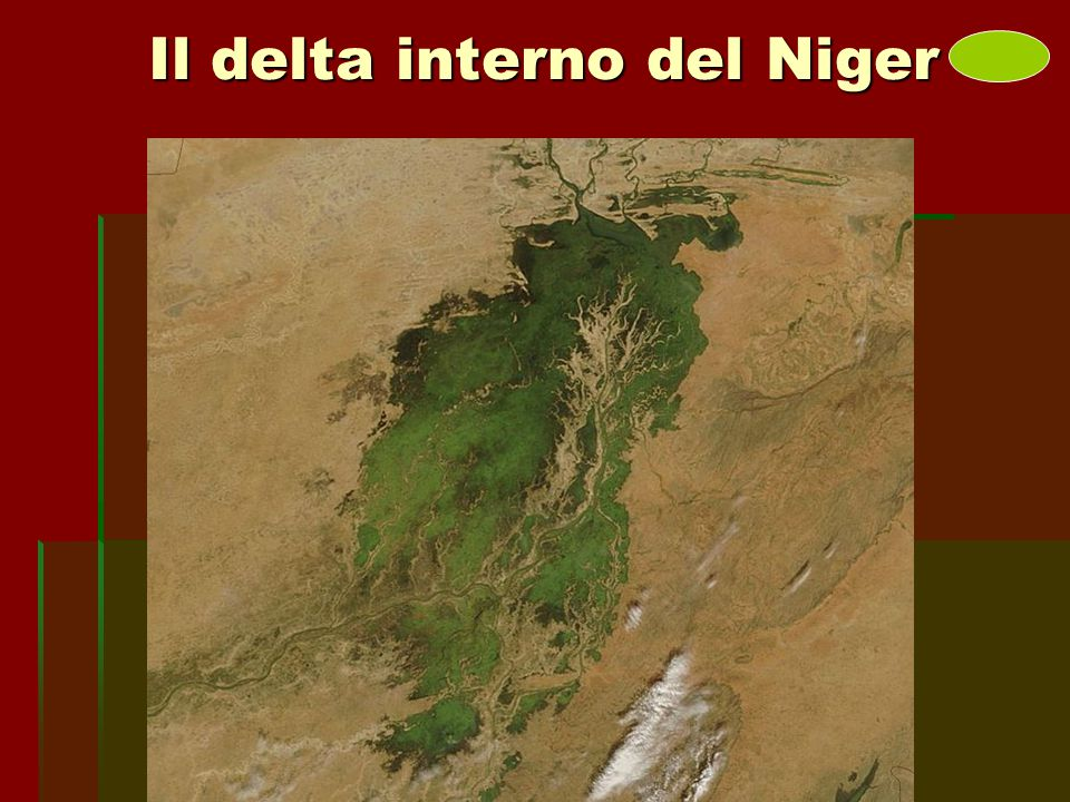 Il delta interno del Niger