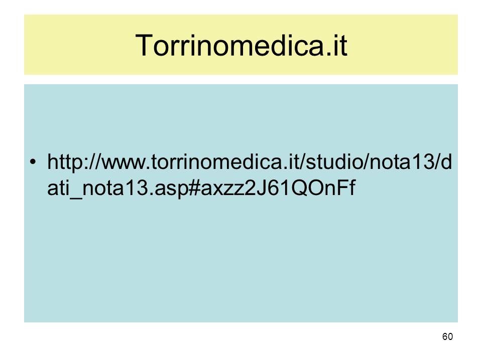Torrinomedica.it http://www.torrinomedica.it/studio/nota13/dati_nota13.asp#axzz2J61QOnFf