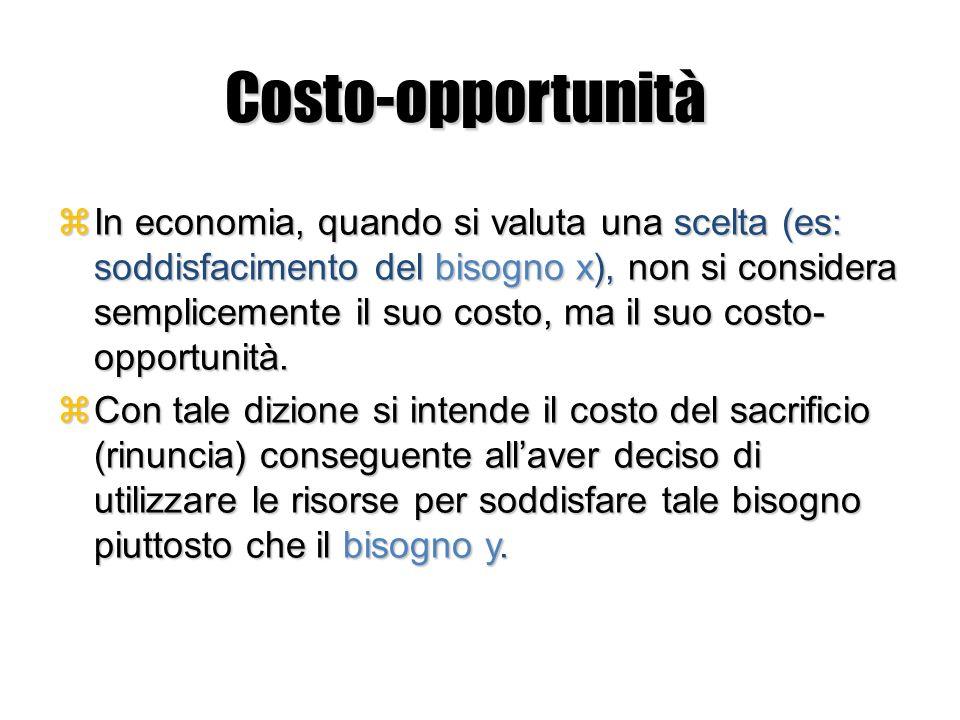 Costo-opportunità