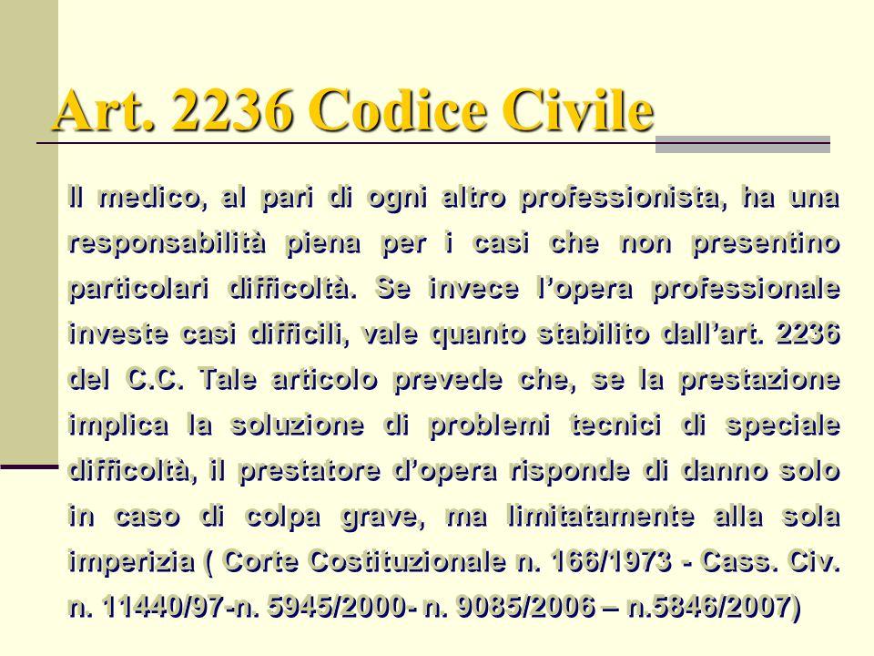 Art. 2236 Codice Civile
