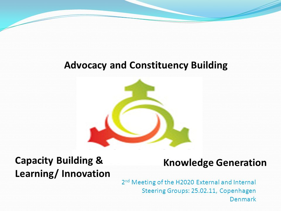 Advocacy and Constituency Building