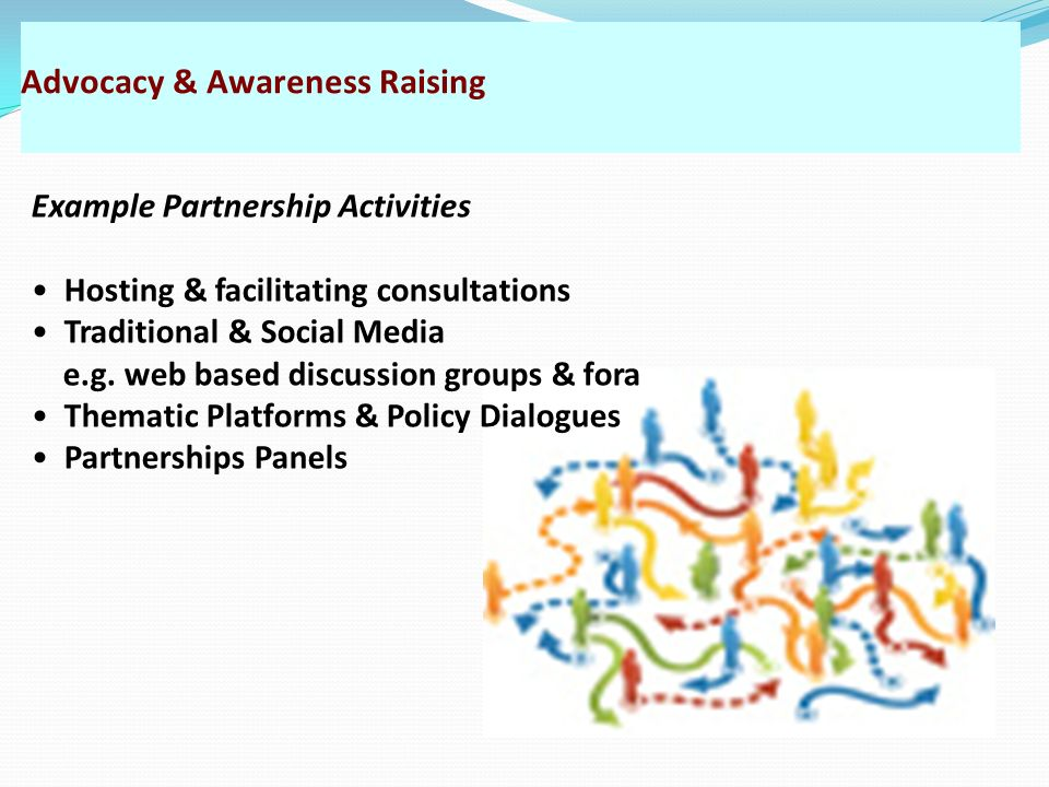 Advocacy & Awareness Raising