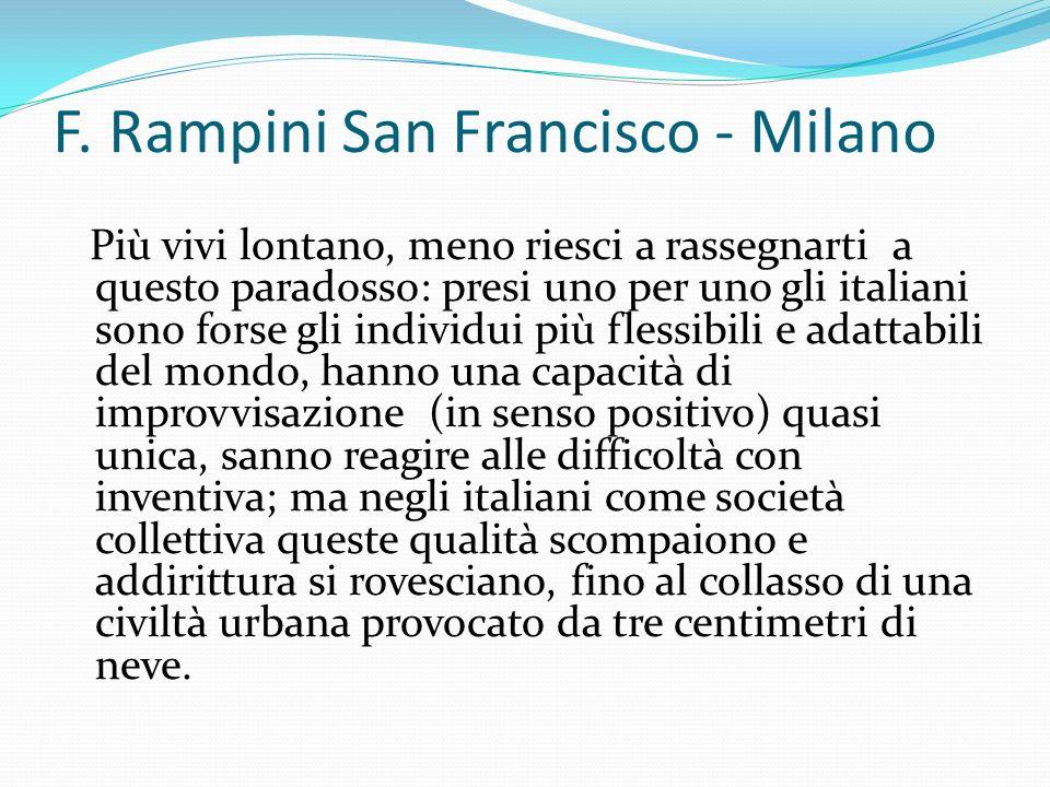 F. Rampini San Francisco - Milano