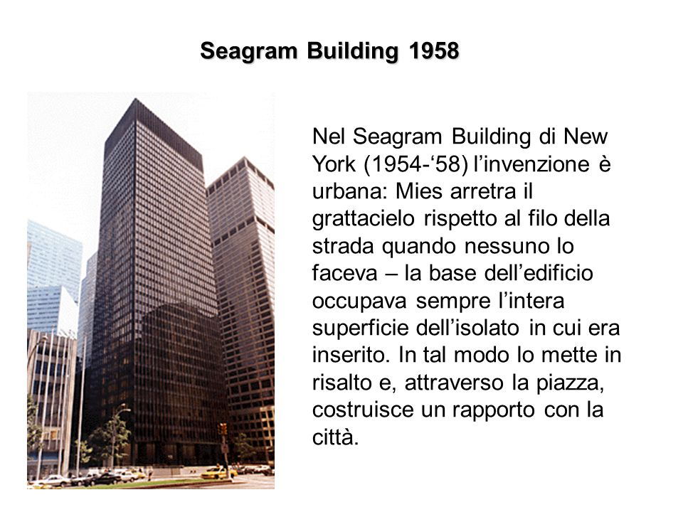 Seagram Building 1958