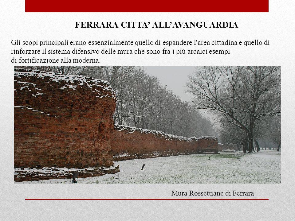 FERRARA CITTA' ALL'AVANGUARDIA