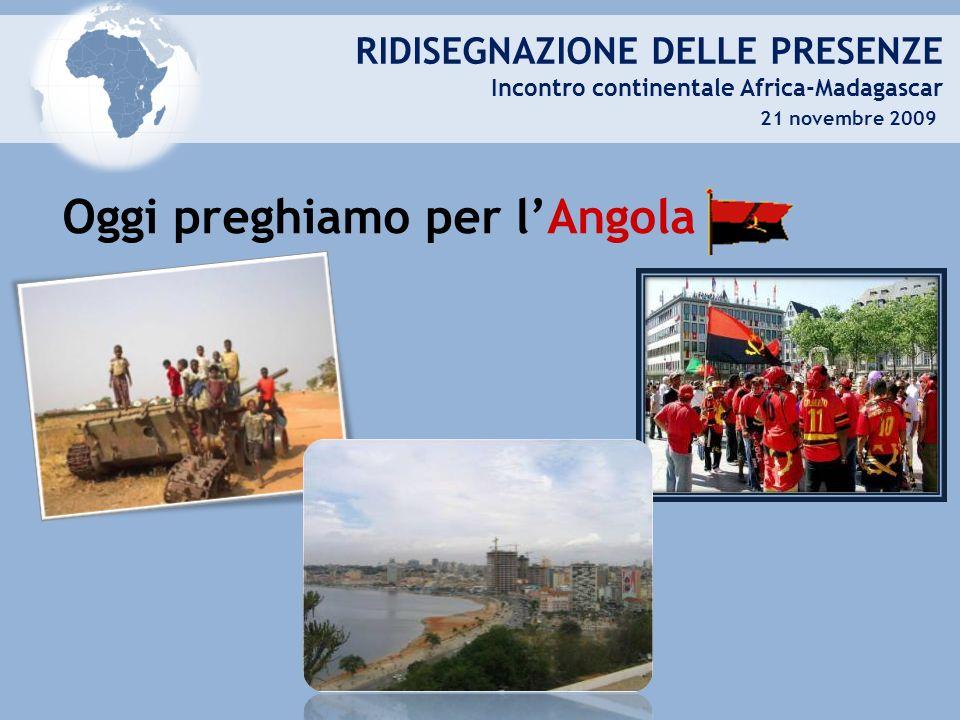 Oggi preghiamo per l'Angola