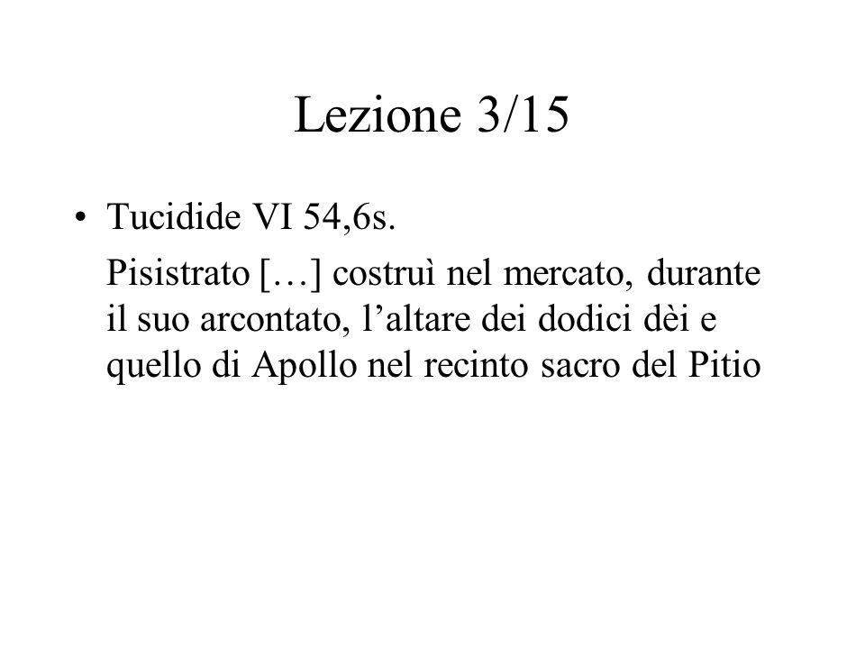 Lezione 3/15 Tucidide VI 54,6s.