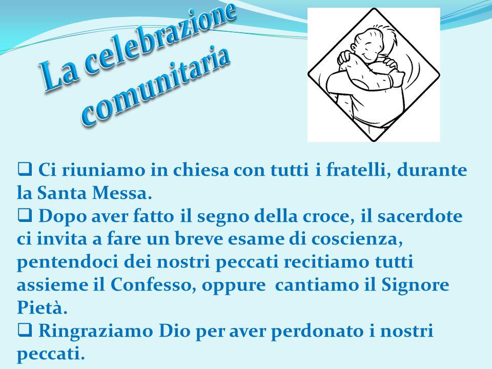 La celebrazione comunitaria