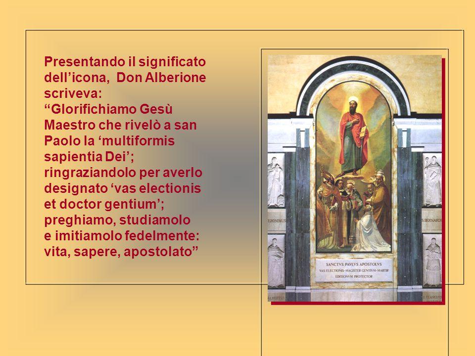 Presentando il significato dell'icona, Don Alberione scriveva: