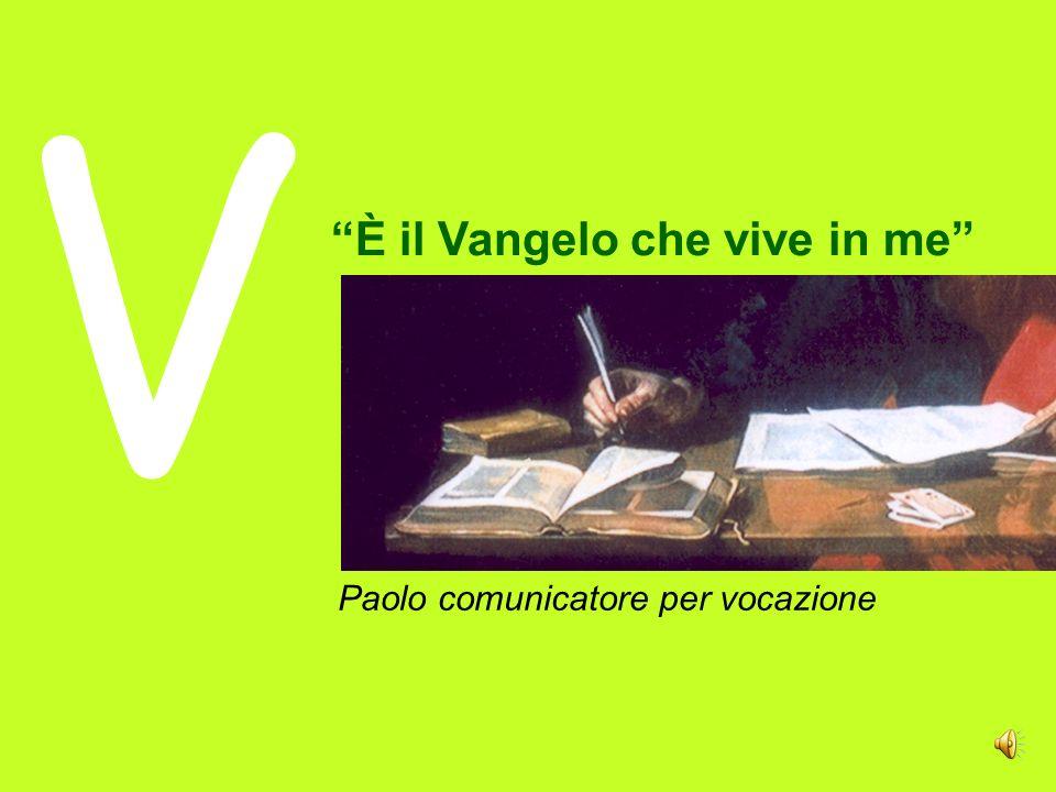Paolo comunicatore per vocazione