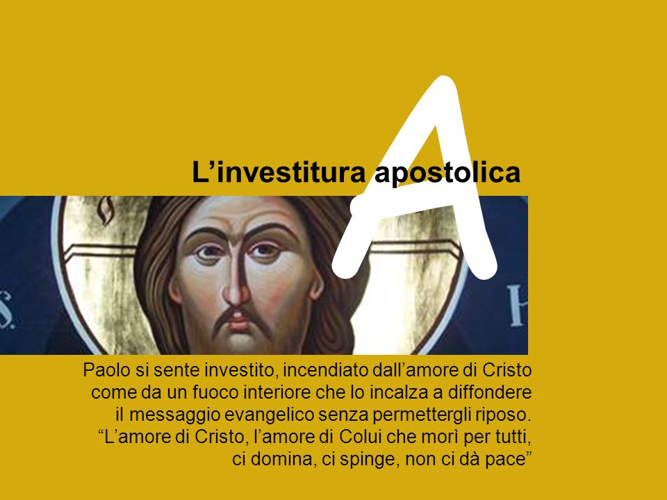 A L'investitura apostolica