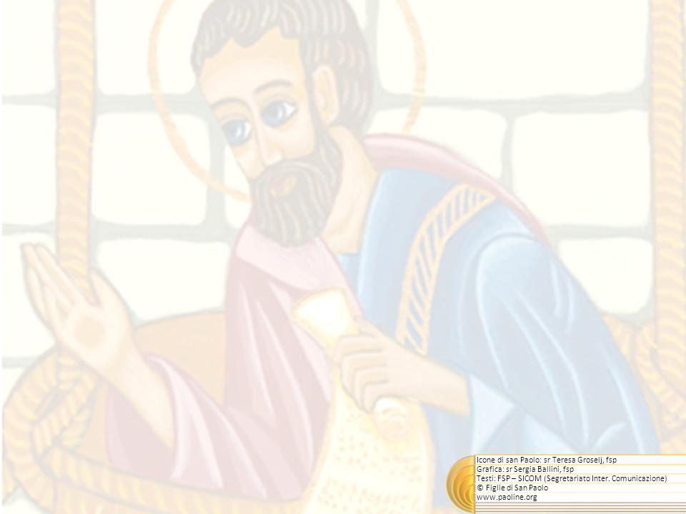 Icone di san Paolo: sr Teresa Groselj, fsp