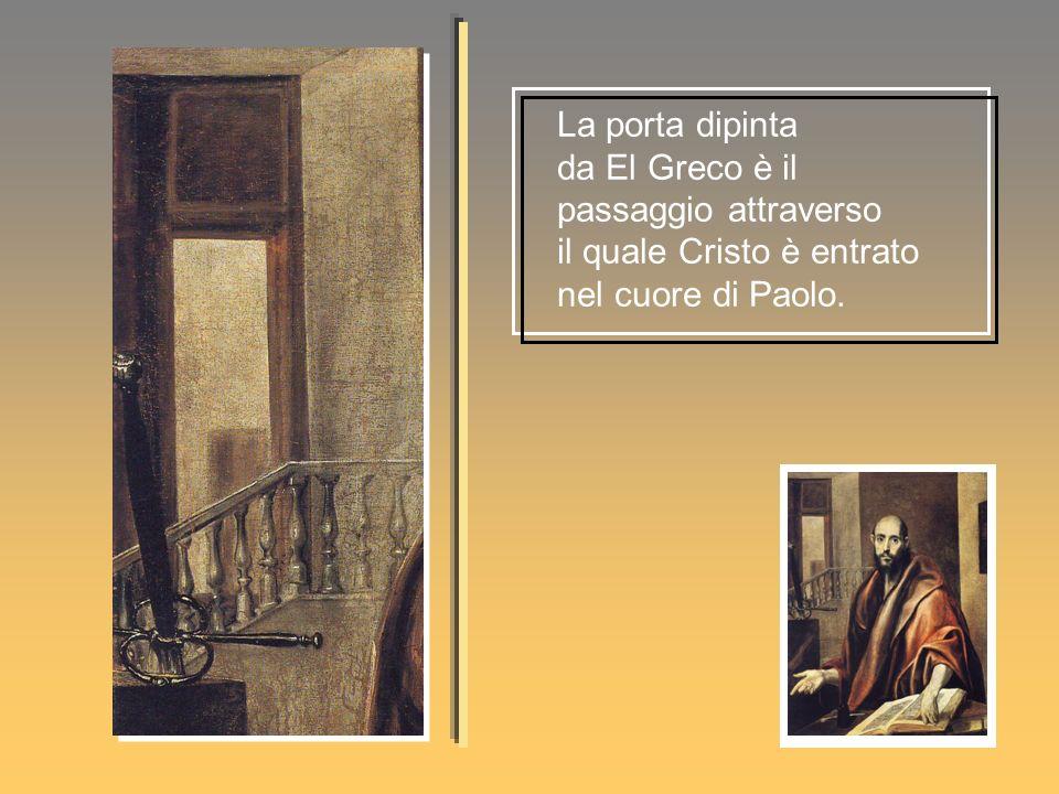 La porta dipinta da El Greco è il passaggio attraverso