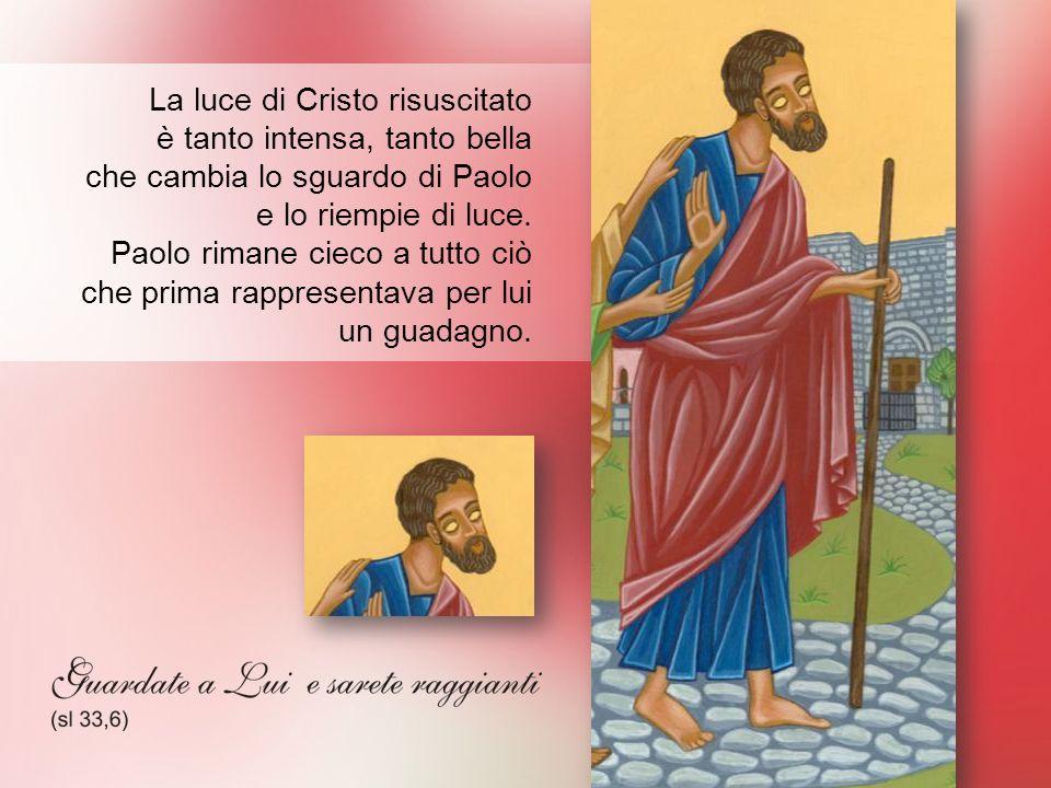 La luce di Cristo risuscitato è tanto intensa, tanto bella