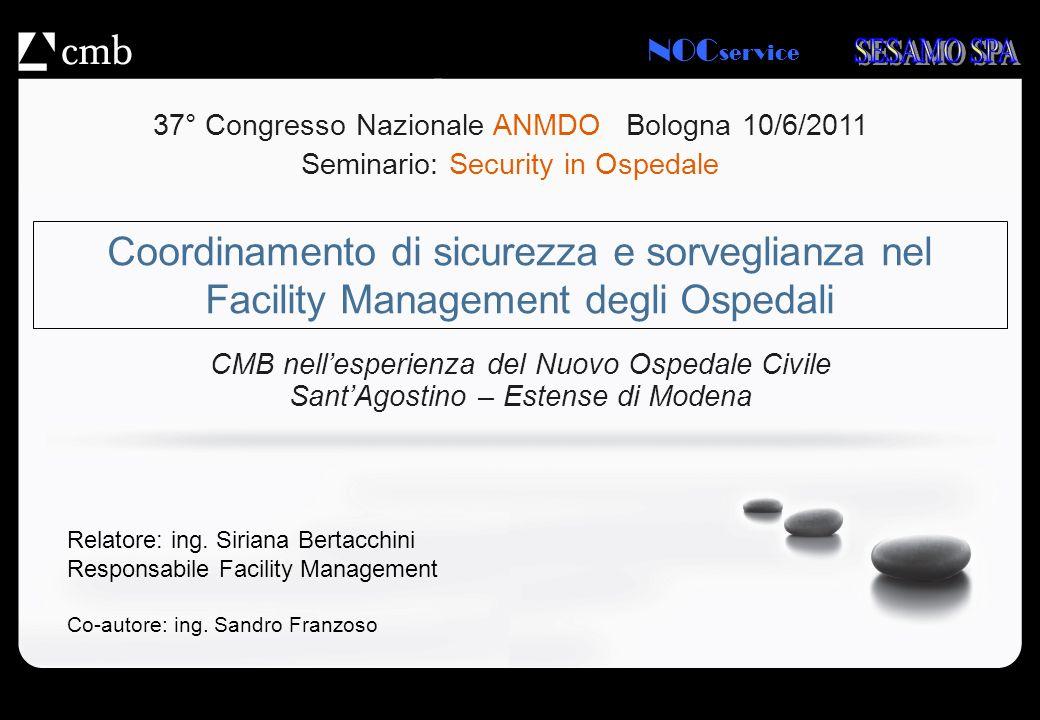 37° Congresso Nazionale ANMDO Bologna 10/6/2011