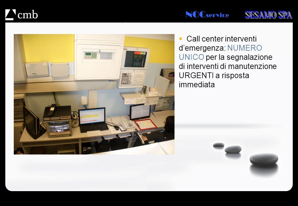 Call center interventi d'emergenza: NUMERO UNICO per la segnalazione di interventi di manutenzione URGENTI a risposta immediata