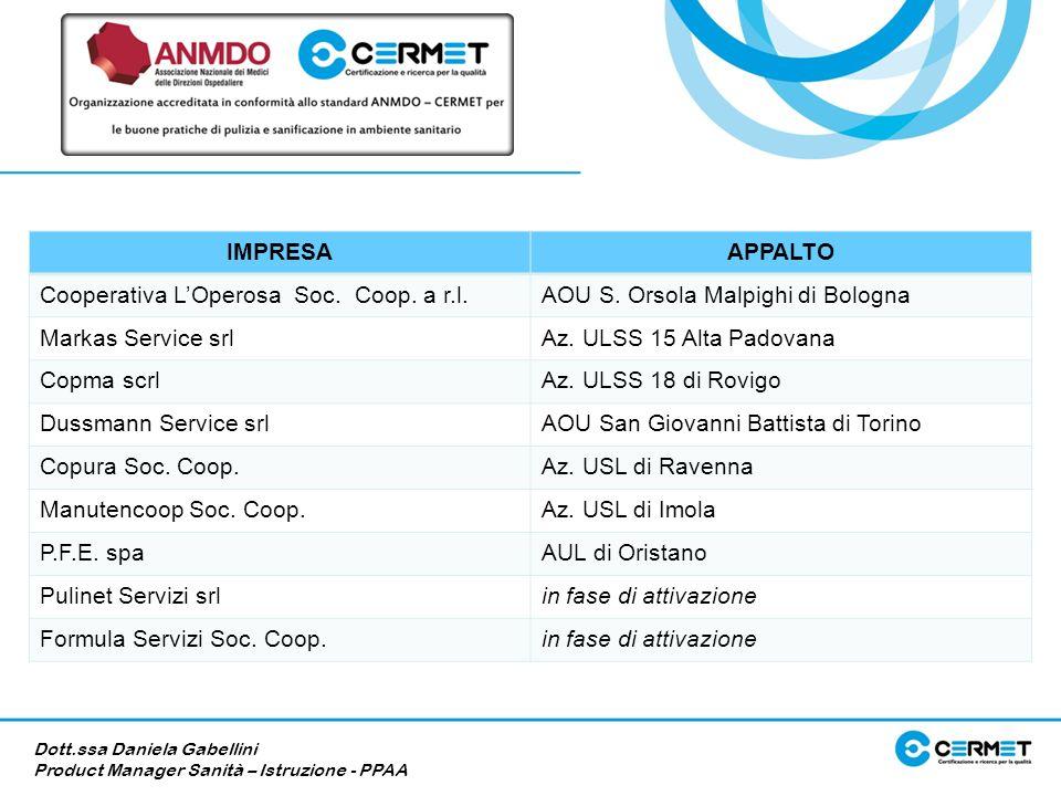Cooperativa L'Operosa Soc. Coop. a r.l.