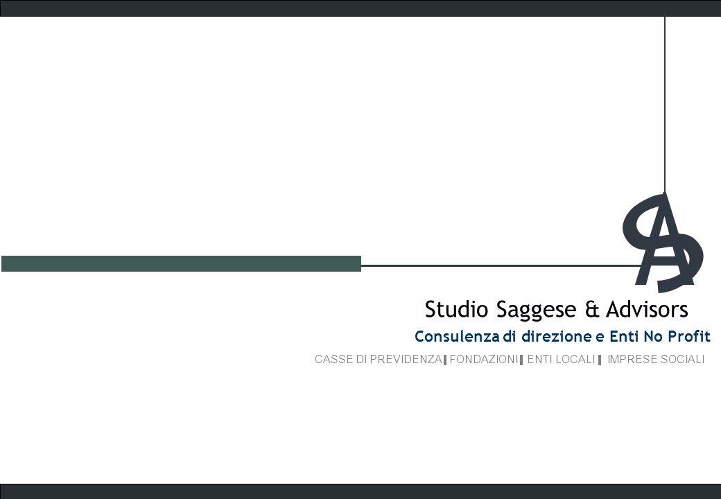 A S Studio Saggese & Advisors Consulenza di direzione e Enti No Profit