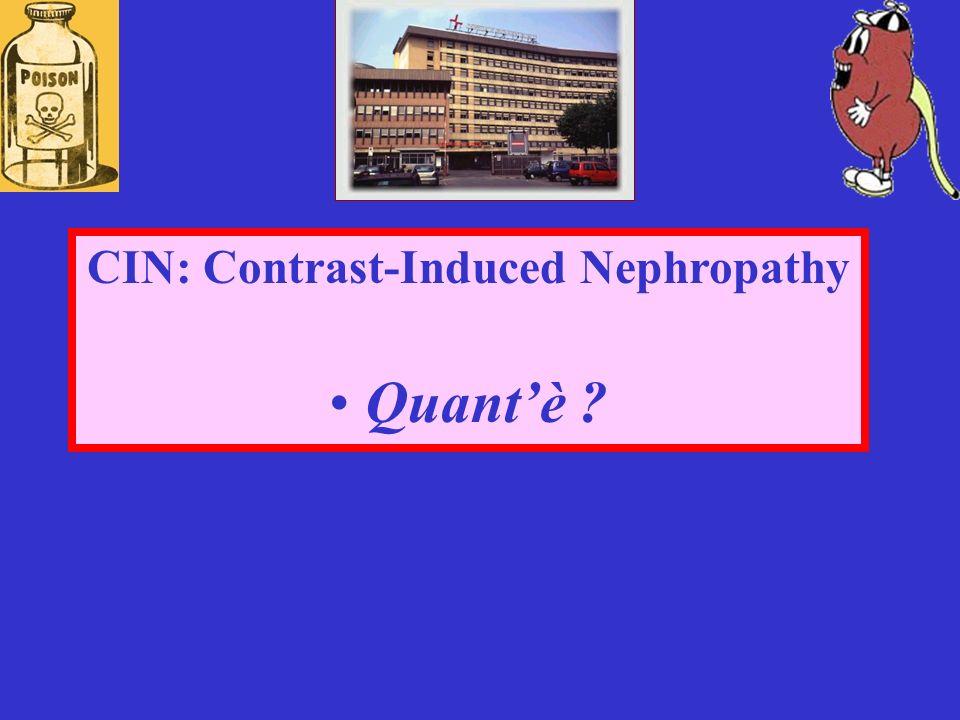 CIN: Contrast-Induced Nephropathy