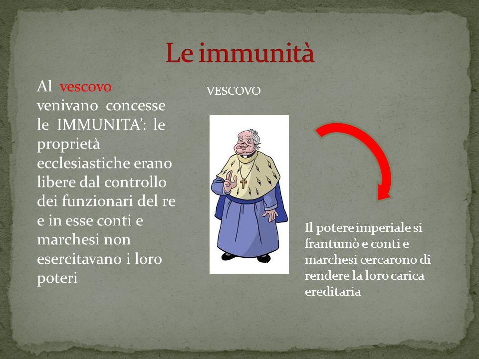 Le immunità