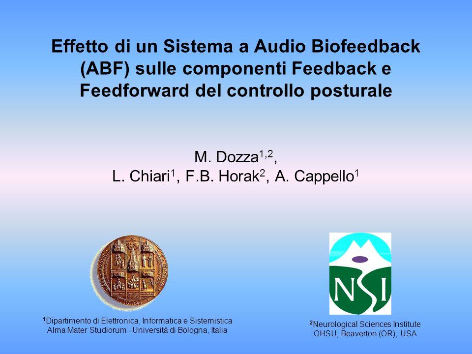 M. Dozza1,2, L. Chiari1, F.B. Horak2, A. Cappello1