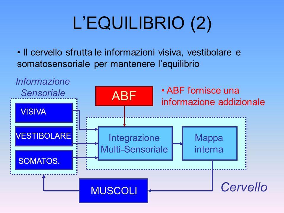 L'EQUILIBRIO (2) ABF Cervello MUSCOLI