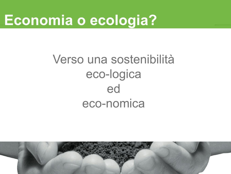 Verso una sostenibilità