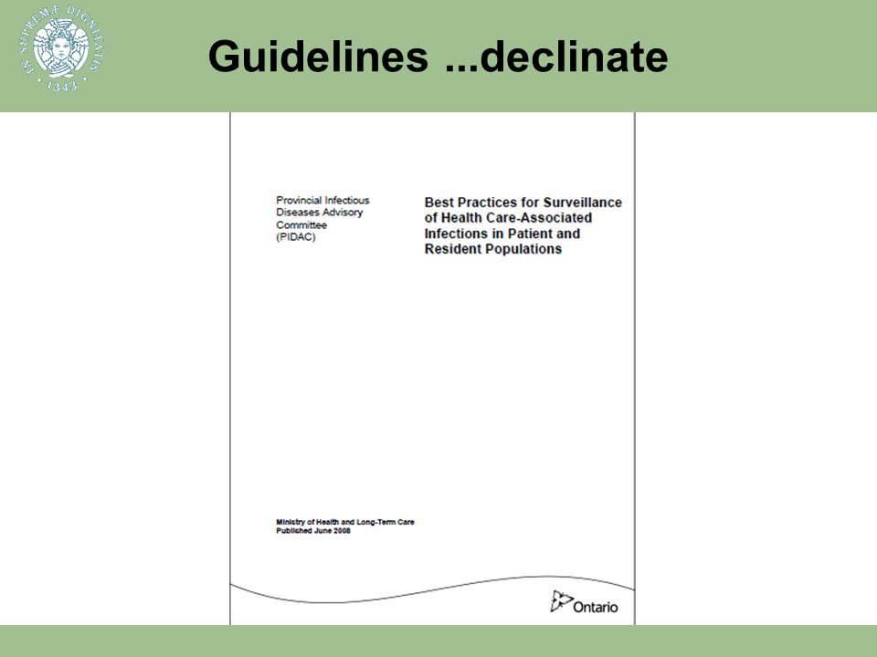 Guidelines ...declinate